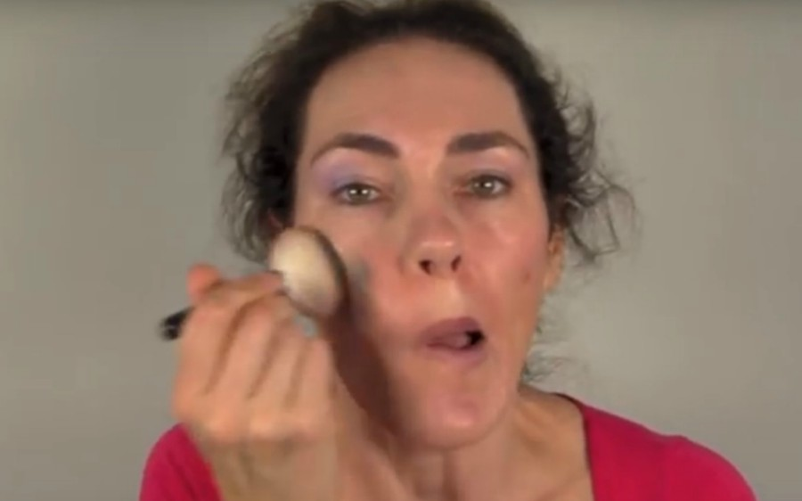 video moeders en make-up