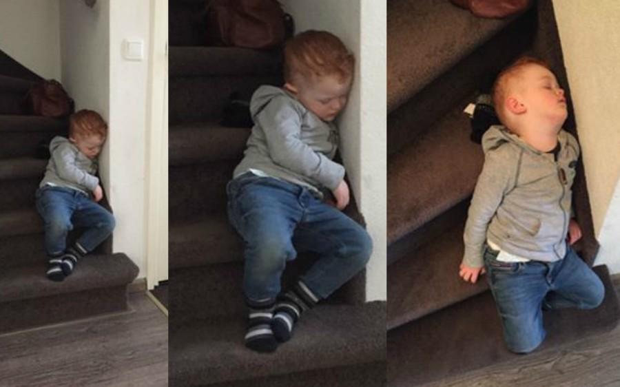 verhaal achter de foto straf op de trap