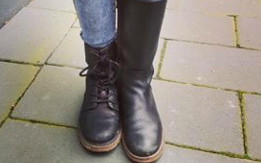 verhaal achter de foto verschillende schoenen