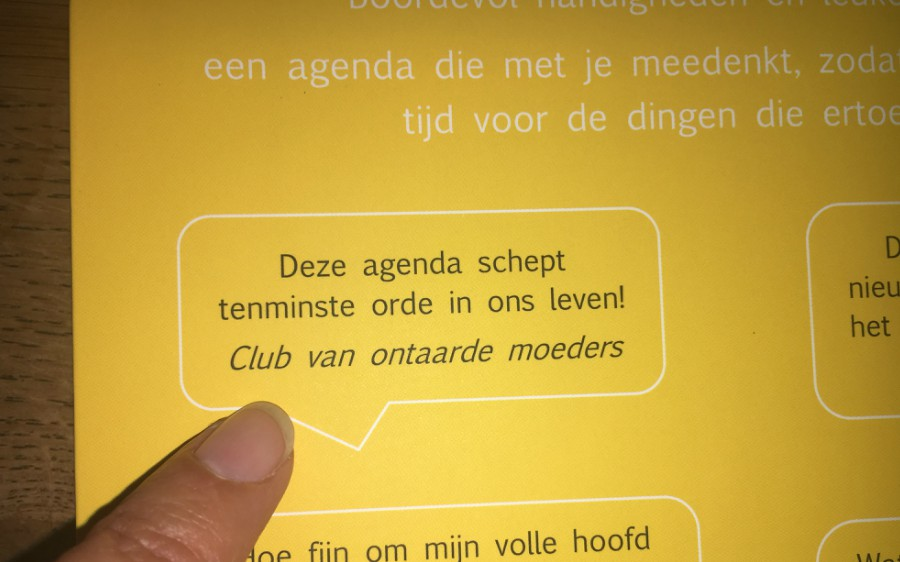 win agenda