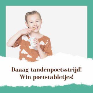Waarom is er in hemelsnaam élke dag een tandenpoetsstrijd met je kind? Dat gedoe elke keer is zó strontvervelend; niet goed voor jouw humeur en dat van je kind. Daar moet toch een oplossing voor zijn? Vader Peter van @fairytabs kwam met een briljant idee, die jij vast ook wilt uitproberen! Check de link in bio!  #tandenpoetsstrijd #elkedagweer #omgekvanteworden #ditisdeoplossing #oplossing #tandenpoetsenwordtweerleuk #fairytabs #tandpastatabletten #winnen #winactie #prijsvraag #linkinbio #clubvanontaardemoeders